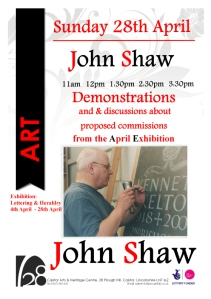 Sun Demos A5 John Shaw poster